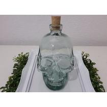 Garrafa De Caveira 750ml - Cranios Ossos Vasos Vidro