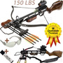 Besta Balestra Crossbow Jaguar 150 Lbs + Bandoleira + Reddot