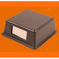 Luminária Balizador Slim Alumínio 15700 Marrom - Germany