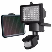 Luminaria Solar Parede 60 Leds Sensor Presença 12 Metros