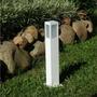 Poste Balizador Alumínio Para Jardim Germany 14100 - Branco