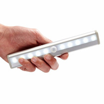 Luminária Led Sensor Luminosidade E Presença Branco Quente