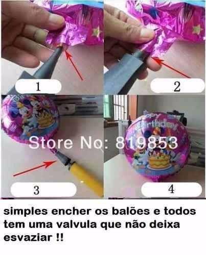 Balão Metalizado Estrela Kit Com 10 Baloes