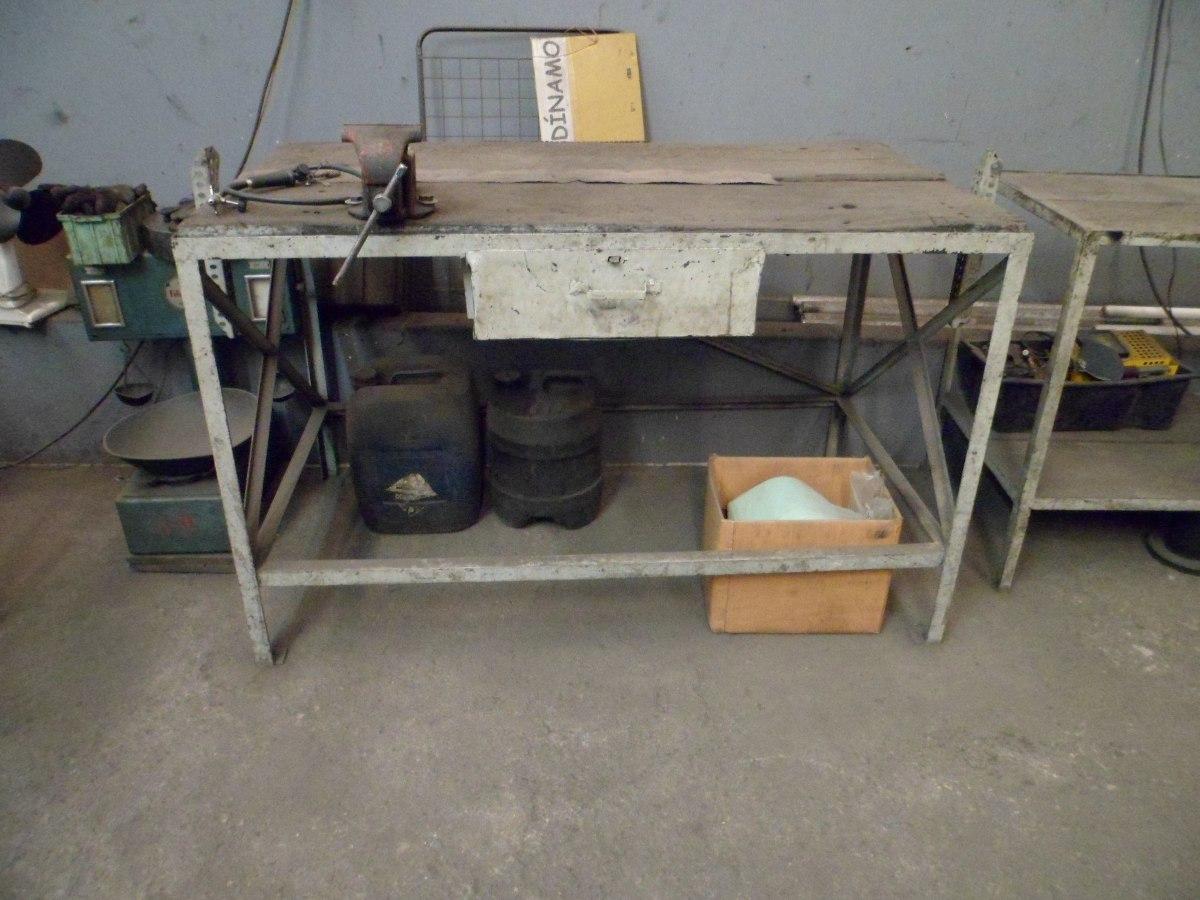 Bancada De Ferro Ferramentas Oficina Com Morça Torno R$ 1.200 00 no  #836648 1200x900