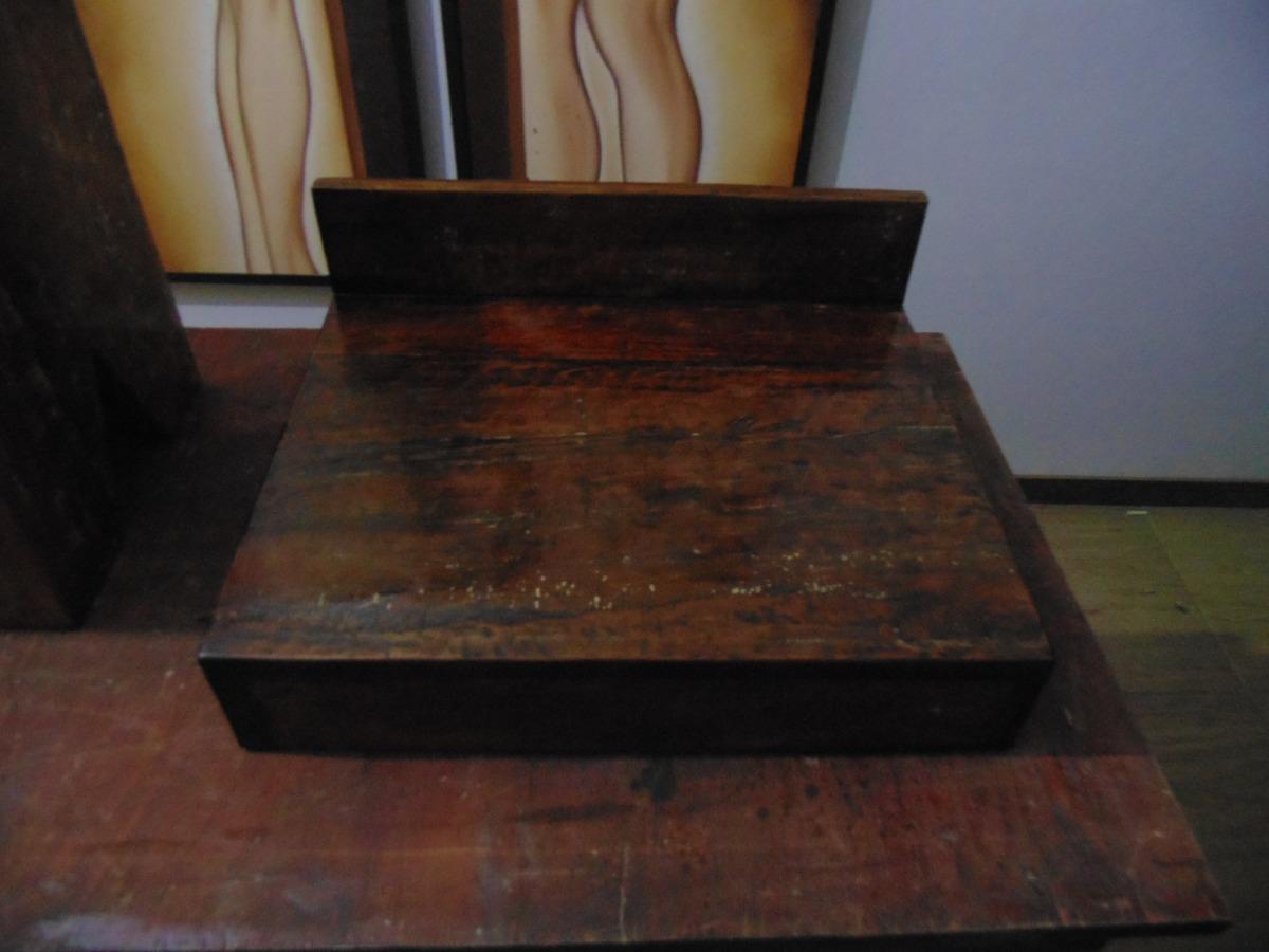 Bancada Lavabo Em Madeira De Demolição Banheiro Cuba R$ 189 90 no  #5F3D2E 1200x900 Bancada Banheiro Mercadolivre