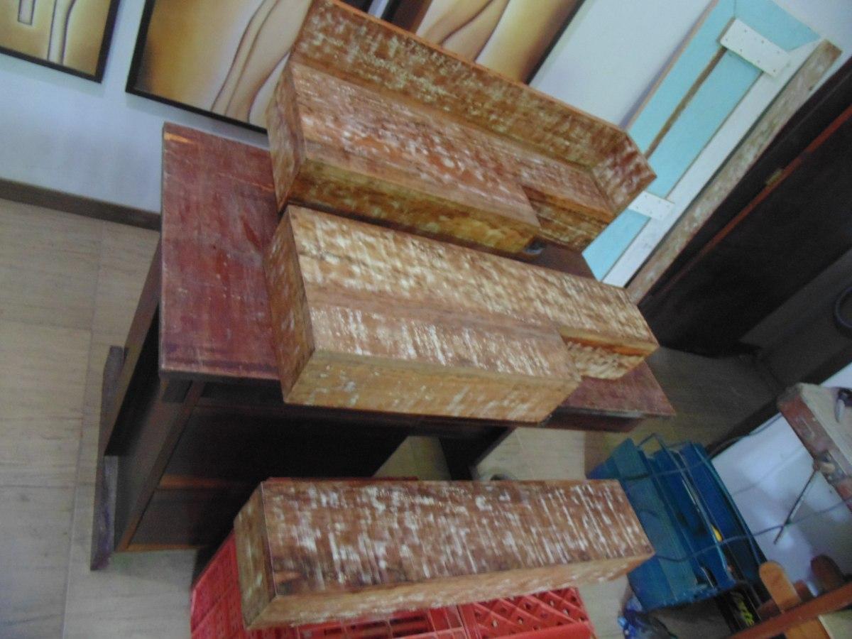Bancada Pia Lavabo Em Madeira De Demolição Banheiro Cuba R$ 199 90  #244460 1200 900