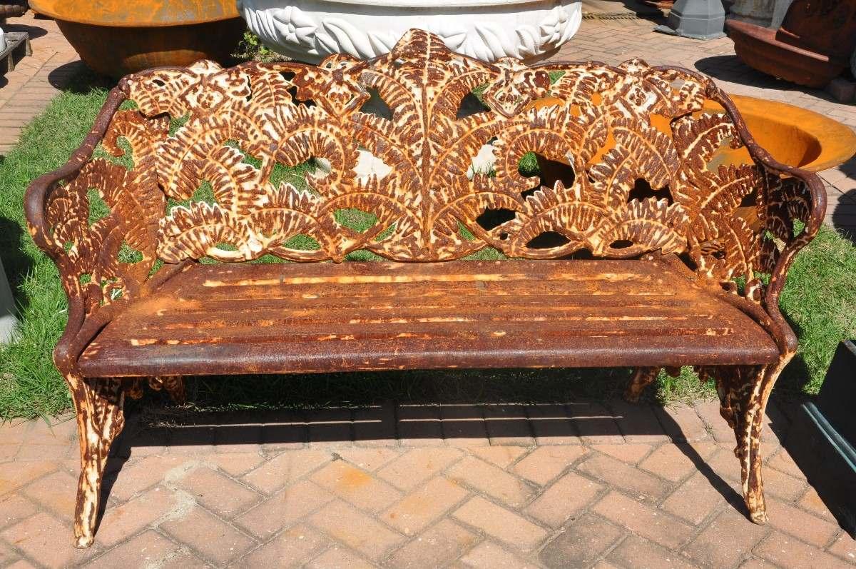de jardim em ferro fundido:Banco Para Jardim De 2 Lugares Em Madeira  #B1511A 1200x797
