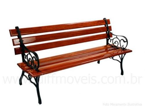 banco de madeira para jardim rio de janeiro : banco de madeira para jardim rio de janeiro:Banco De Jardim Em Madeira E Ferro Fundido – R$ 299,99 no MercadoLivre