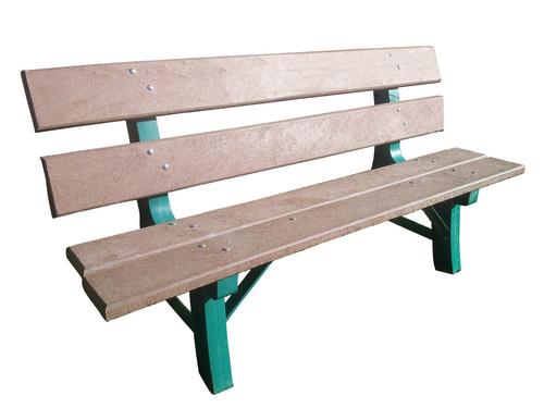 banco de jardim em madeira plástica:Banco De Jardim Em Madeira Plástica – R$ 399,00 no MercadoLivre