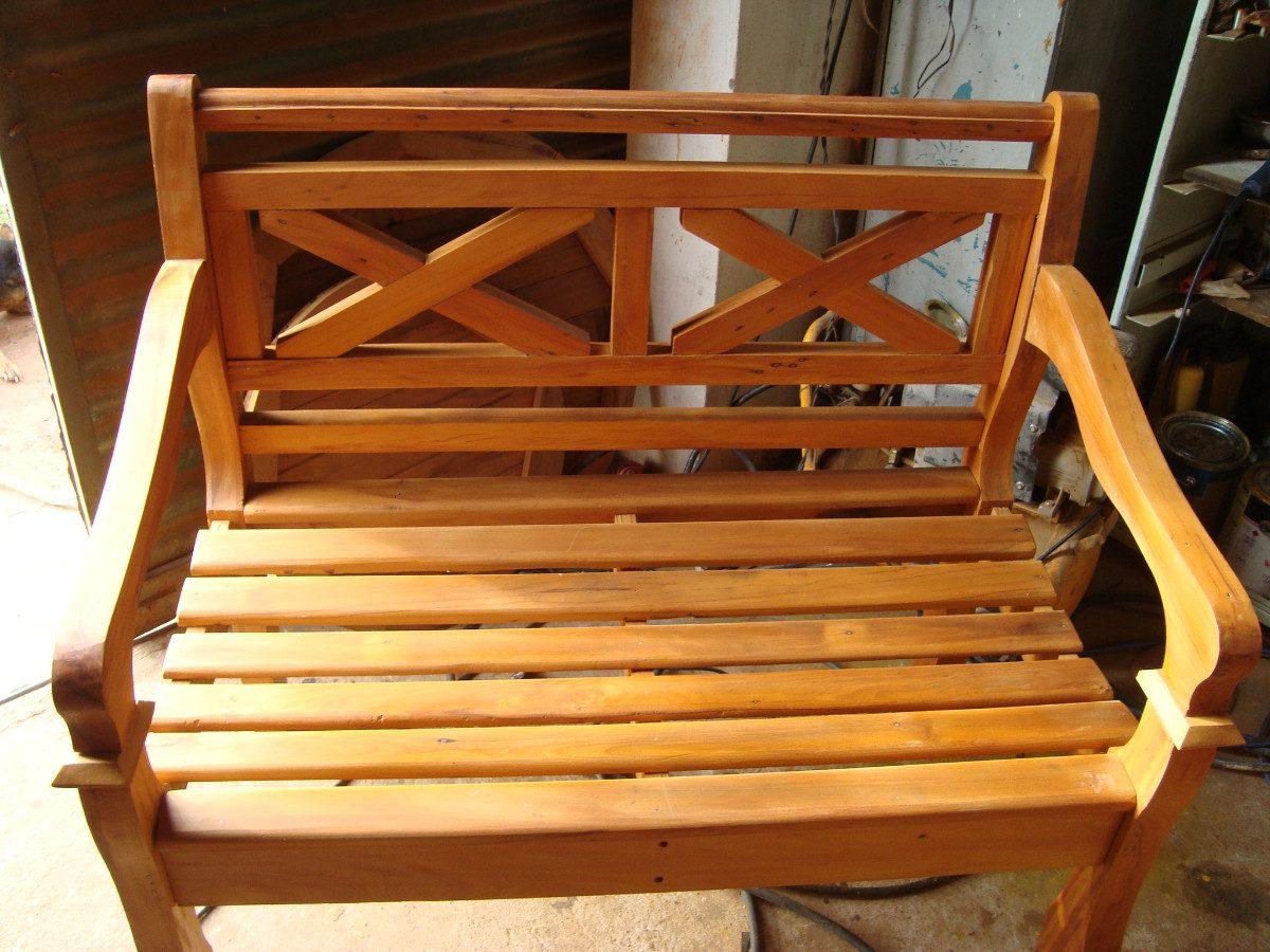 banco namoradeira madeira macica madeira de demolico 8058  #C67C05 1200x900