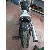 Banco Solo Molas Shadow 600 Vt Vlx Custom Chopper Bobber