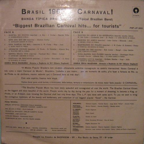 Banda Típica Brasileira - Brasil 1968 Carnaval - 1968