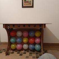 Mesa Provençal Para Festa Infantil Em Mdf Cru Com Tampo 6mm