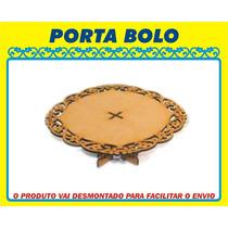 Porta Bolo Mdf - Boleito Provençal - Festa Decoração