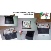 Caixa Porta Chá Classica