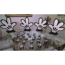 Kit Decoração Festa Provençal Para Mesa / Mickey 50 Peças