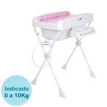 Banheira Para Bebê Millenia - Cubes Rosa Burigotto
