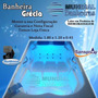 Banheira Dupla Completa Com Hidro+ Aquecedor + Cromoterapia