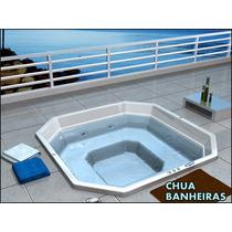 Banheira Spa Tp Jacuzzi Mediterranée Filtro+ozônio R$ 6.999