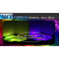 Spa Com Hidro+aquecedor Digital+kit Cromoterapia+travesseiro
