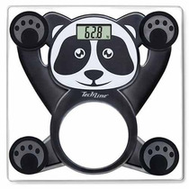 Balanca Infantil Panda Techline Digital Vidro Temperado