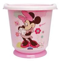 Banheira Sensitive Ofurô Minnie Rosa 17lt Infantil P/bebês