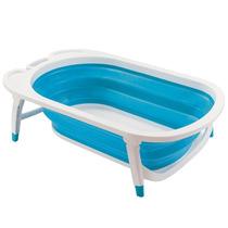 Banheira Dobrável Flexi Bath Multikids Baby Azul