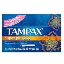 Absorvente Interno Tampax Super Plus Com 10 Unidades