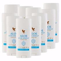Desodorante Forever Living Aloe Vera Ever Shield - 10 Unid