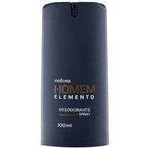 Desodorante Spray Natura Homem Elemento Masc. 100ml + Brinde