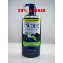 Biore Deep Pore Charcoal Cleanser - 250ml - Frete Barato