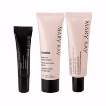 Kit Mary Kay - Base + Corretivo + Primer Facial + Base Em Pó