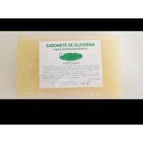 Base Para Sabonete Glicerina Régia 3 Kg Artesanato