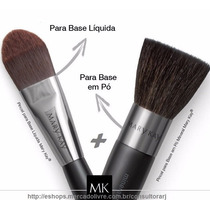 Kit Pincel Base Liquida + Pincel Base Em Pó Mary Kay ***
