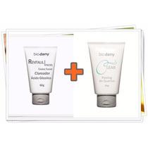 Ácido Glicólico Clareador + Peeling + Sabonete