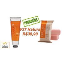 Kit Sabonete Natura Ekos Pitanga+creme Hidratante Mãos+frete