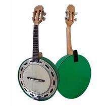 Banjo Rozini Rj11elv Studio Elétrico Verde, 03825