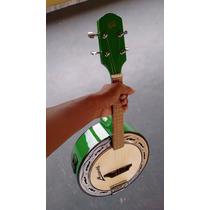 Banjo Emerson Brasa Caixa De 9. Elétrico - Verde