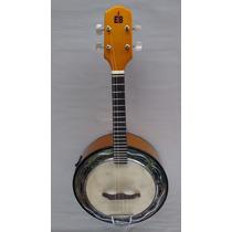 Banjo Emerson Brasa Caixa De 9. Elétrico - Dourado