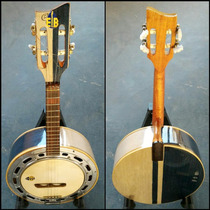 Banjo Caixa De 9 Luthier Nevada Com Azulzinho Brilho.