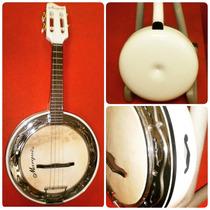 Banjo Marquês Branco Caixa Em Fibra - Bf 02