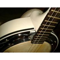 Banjo Marques Branco Elétrico - Bm 01