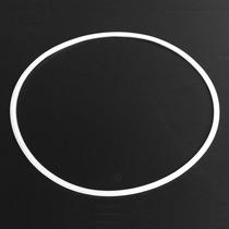 Borracha De Base Disco Branca Alta Qualidade 38cm/41cm/50cm