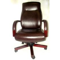 Cadeira Escritório Executiva Presidente Com Rodinhas