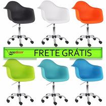Cadeira Charles Eames Office Dar Em Pp Frete Grátis Brasil