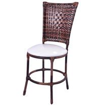 Cadeira Para Mesa De Jantar De Junco Sintético