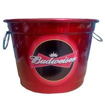 Balde Para Gelo Em Aluminio 8 Litros Cerveja Budweiser