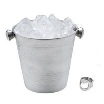 Balde Para Gelo Em Inox - 1,5 Litros - 14 Cm Com Alça