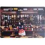 Placa Decorativa Grande Balcão De Bar 40,5cm X 28,5cm