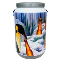 Cooler Térmico Pinguim 24 Latas Cerveja Refrigerante Beer